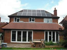 Solar power increases home values